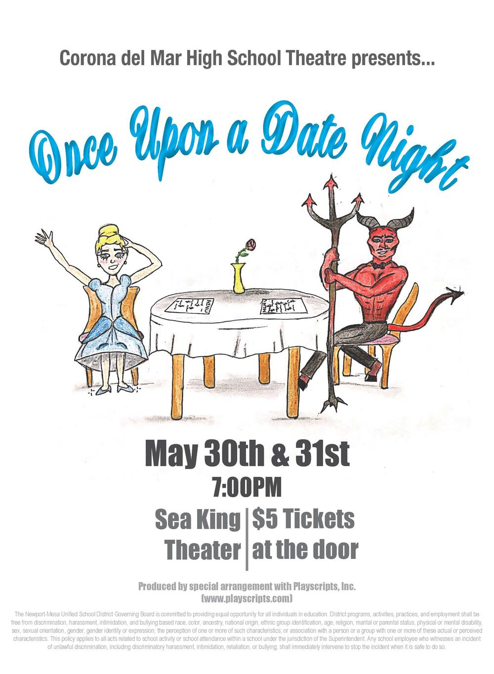 CdMHS Theatre presents...Once Upon a Date Night